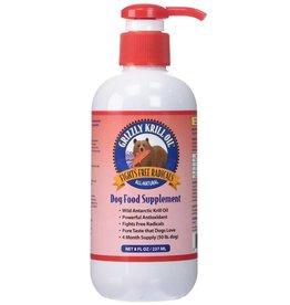 Grizzly Wild Antarctic Krill Oil 8 fl oz