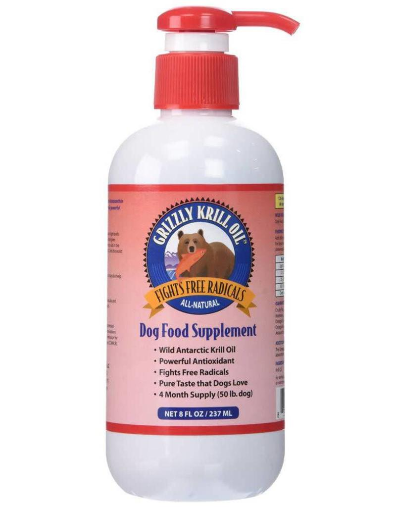 Grizzly Grizzly Wild Antarctic Krill Oil 8 fl oz