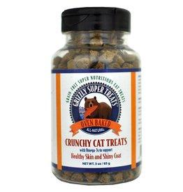 Grizzly Super Treats Cat Treats  Skin and Coat 3 oz