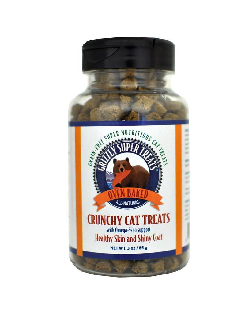 Grizzly Grizzly Super Treats Cat Treats  Skin and Coat 3 oz