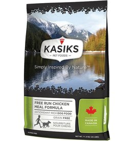 Kasiks Kasiks Grain Free Dog Kibble Free Run Chicken 25 lbs