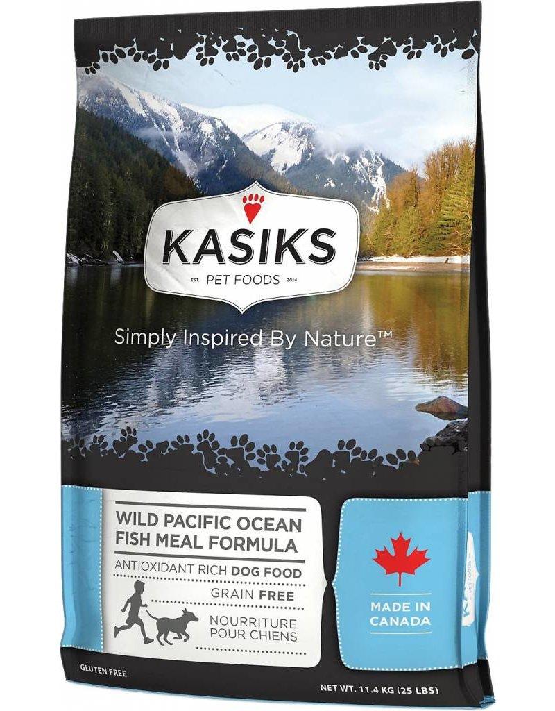 Kasiks Kasiks Grain Free Dog Kibble Wild Pacific Ocean Fish 25 lbs