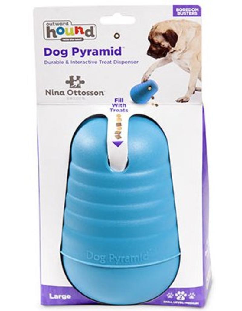Outward Hound Outward Hound Nina Ottosson Dog Pyramid Large - Blue