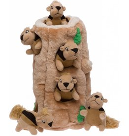Outward Hound Plush Hide-a-Squirrel Large