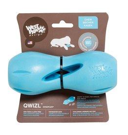 West Paw West Paw Design Dog Toys  Qwizl - AQUA Small