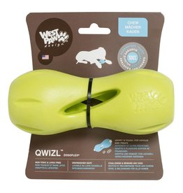 West Paw West Paw Design Dog Toys  Qwizl - GREEN Small