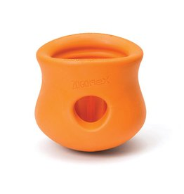 West Paw West Paw Design Dog Toys  Topple - TANGERINE Large