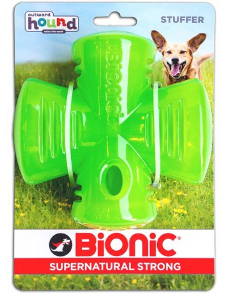 Outward Hound Bionic Stuffer - Green