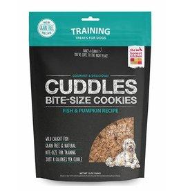 The Honest Kitchen Crunchy Dog Training Treats Fish & Pumpkin Cuddles 12 oz