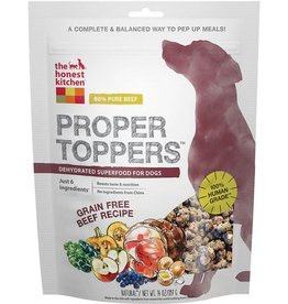 The Honest Kitchen Proper Toppers Grain Free Beef 14 oz