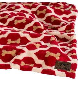 Tall Tails Tall Tails Fleece Blanket Red Bone 30 x 40