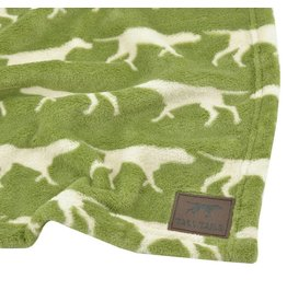 Tall Tails Tall Tails Fleece Blanket Sage 30 x 40