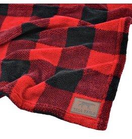 Tall Tails Tall Tails Fleece Blanket Hunters Plaid 30 x 40