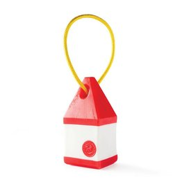 Planet Dog Planet Dog Toys  Orbee-Tuff Buoy Red/White One Size