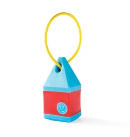 Planet Dog Planet Dog Toys  Orbee-Tuff Buoy Blue/Red One Size