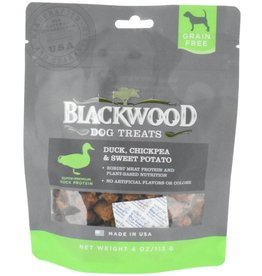 Blackwood Blackwood GF Dog Treats Duck, Chickpea & Sweet Potato 4 oz