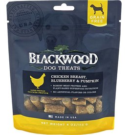 Blackwood Blackwood GF Dog Treats Chicken, Blueberry & Pumpkin 4 oz