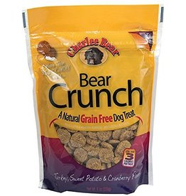 Charlee Bear Charlee Bear BEAR CRUNCH Grain Free Dog Treats Turkey, Sweet Potato & Cranberry 8 oz