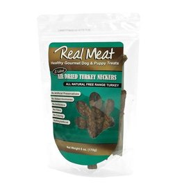 Cloud Star Real Meat Dog Jerky Treats Air Dried Turkey Neckers 6 oz