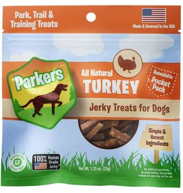 Presidio Natural Pet Co Parkers Jerky Treats Turkey 1.25 oz