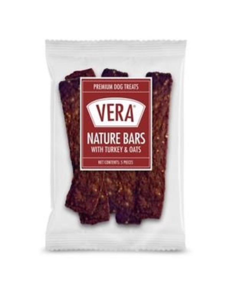 Vera Dog Treats Turkey & Oats Bar 5 pc 1.5 oz