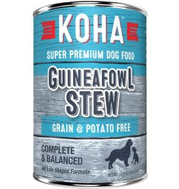 Koha Koha Canned Dog Food Guineafowl Stew 12.7 oz single