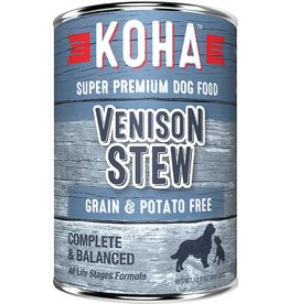 Koha Koha Canned Dog Food Venison Stew 12.7 oz single