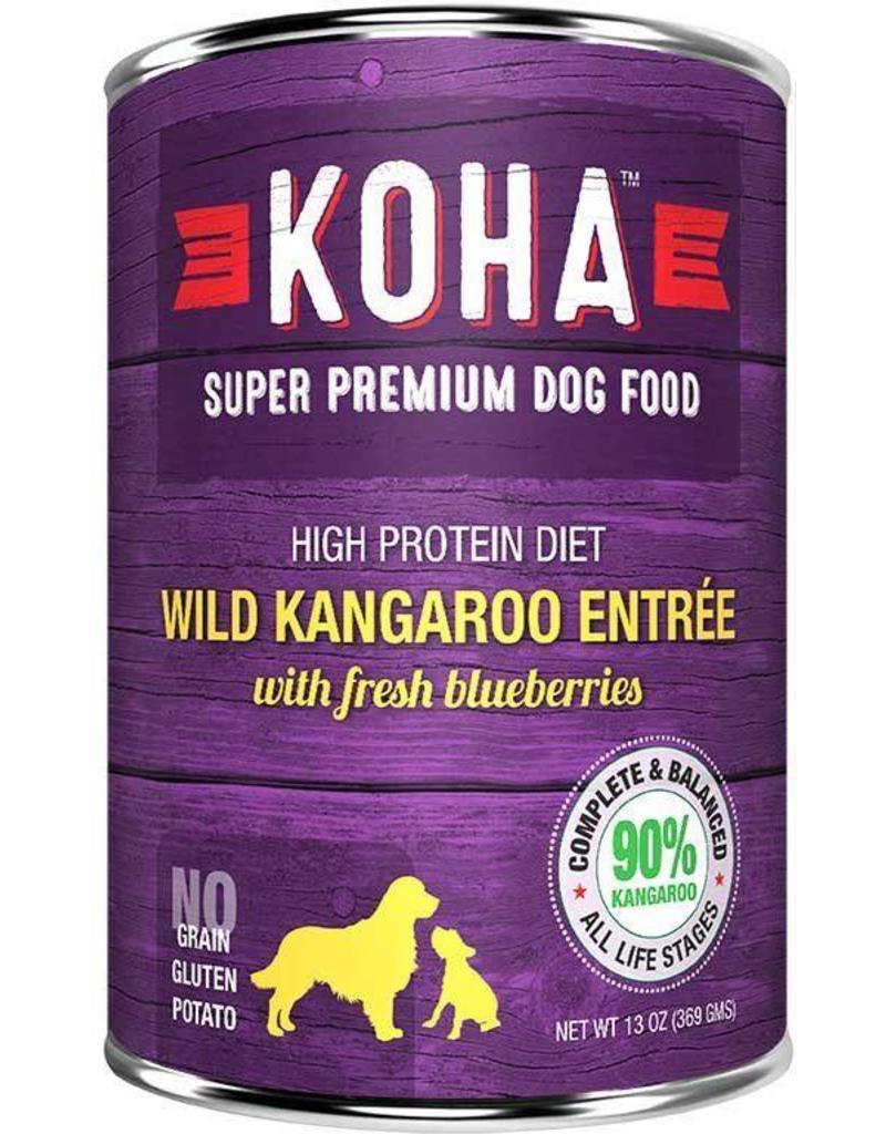 Koha Koha Canned Dog Food Kangaroo Entree 12.7 oz single