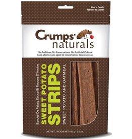 Earth Animal Crumps Naturals Dog Treats Oatmeal and Sweet Potato Strips 5.6 oz