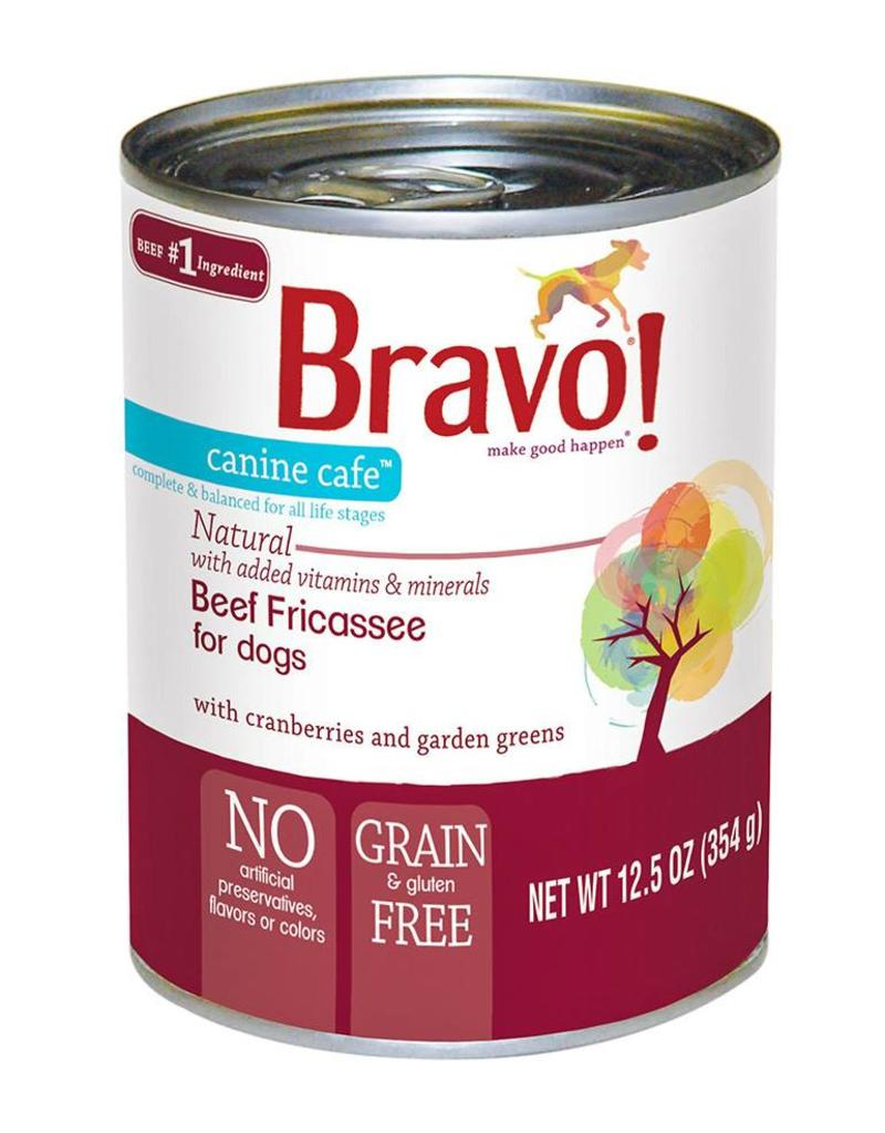 Bravo Bravo Dog Cans Beef Fricassee 12.5 oz single