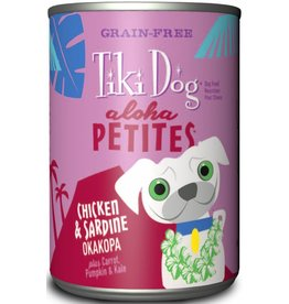 Tiki Dog Aloha Petites Canned Dog Food Okakopa 9 oz single