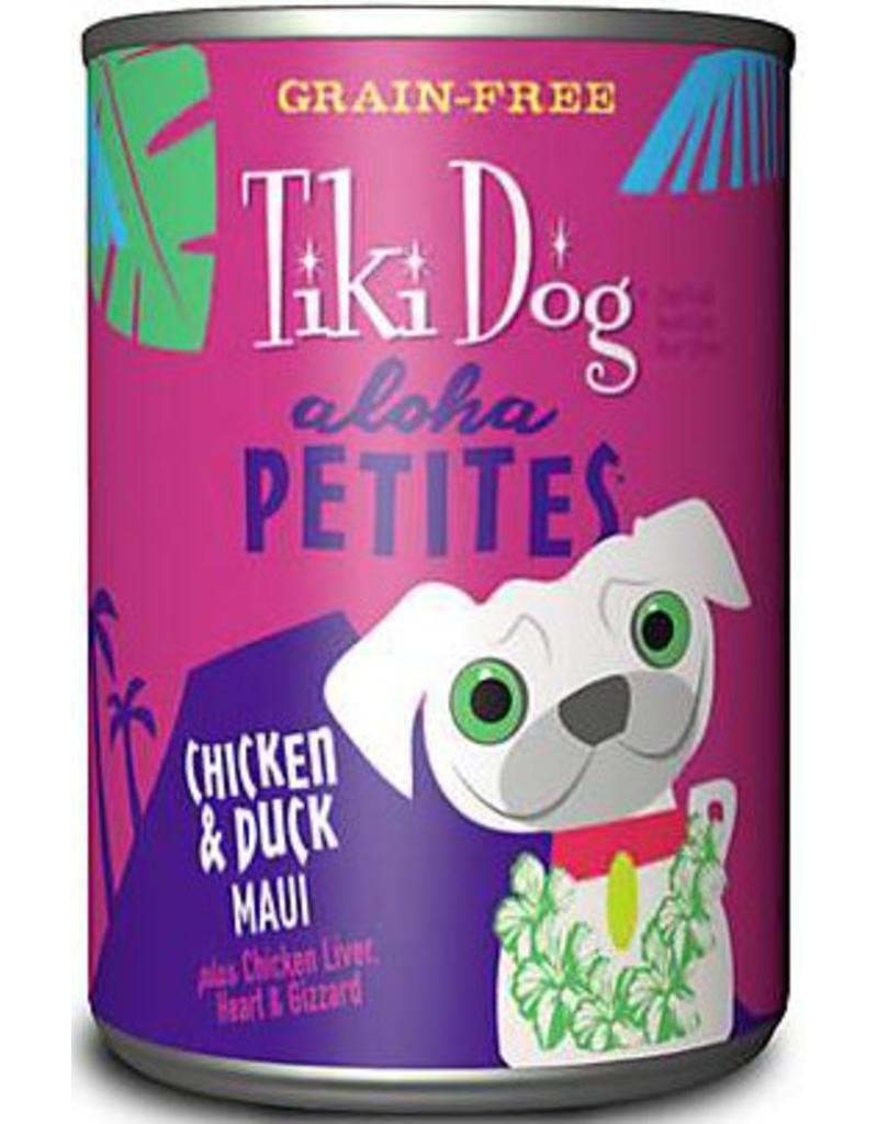 Tiki Dog Aloha Petites Canned Dog Food Maui 9 oz single