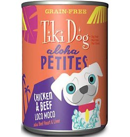 Tiki Dog Aloha Petites Canned Dog Food Loco Moco 9 oz single