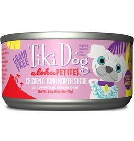 Tiki Dog Aloha Petites Canned Dog Food North Shore 3.5 oz single