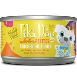 Tiki Dog Aloha Petites Canned Dog Food Huli 3.5 oz single
