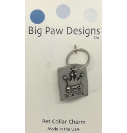 Big Paw Designs Dog Tags  Bone King