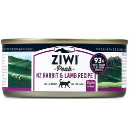 Ziwipeak ZiwiPeak Canned Cat Food Rabbit & Lamb 3 oz single