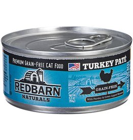 Red Barn Red Barn Canned Cat Food Turkey Pate 5.5 oz single