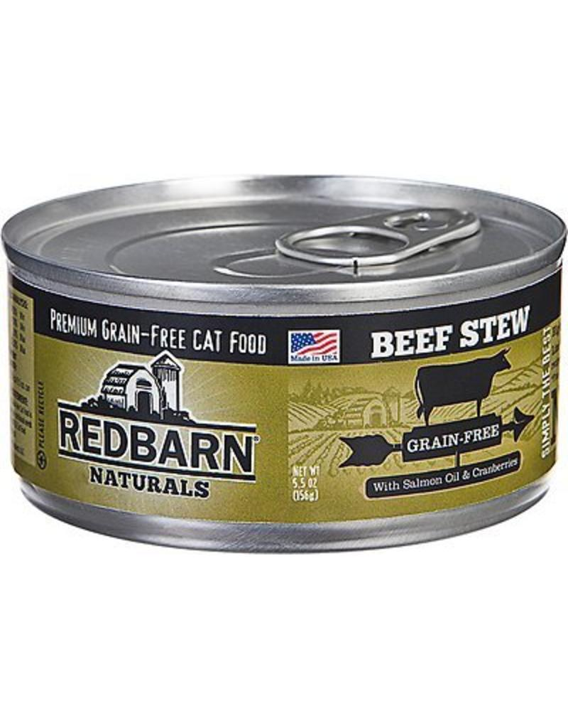 Red Barn Red Barn Canned Cat Food Beef Stew 5.5 oz single