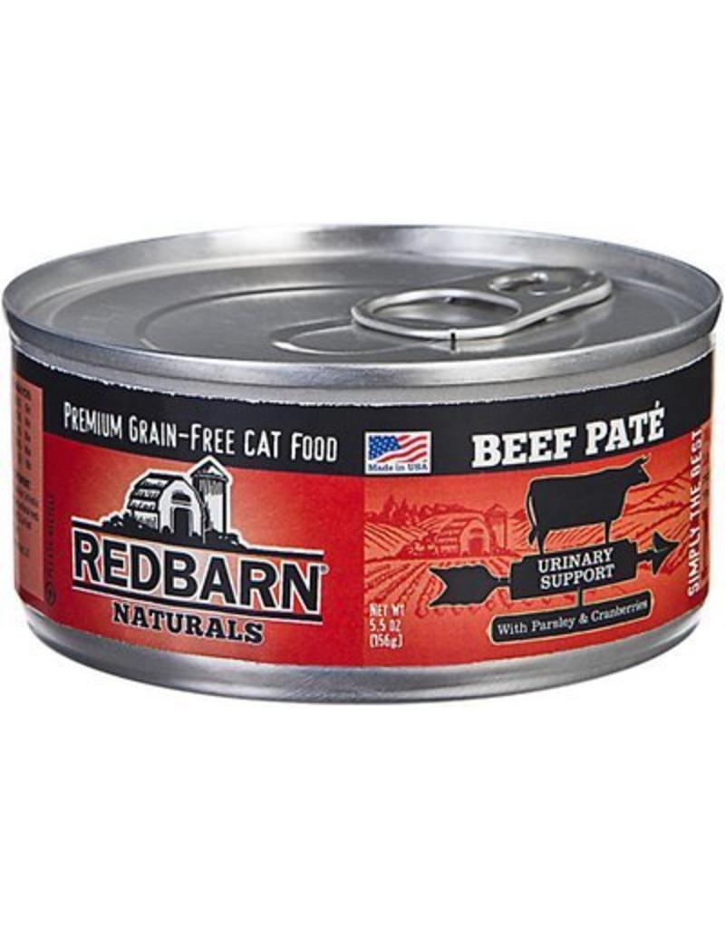 Red Barn Red Barn Canned Cat Food Beef Pate Urinary Support 5.5 oz single