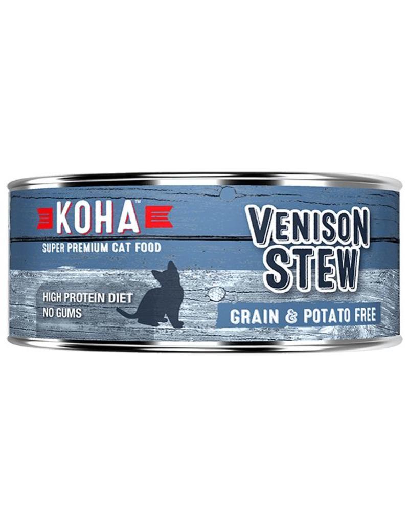 Koha Koha Canned Cat Food Venison Stew 5.5 oz single