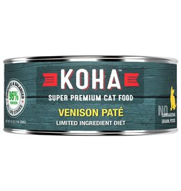 Koha Koha Canned Cat Food Venison Pate 5.5 oz single