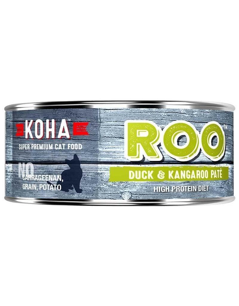 Koha Koha Canned Cat Food Kangaroo & Duck Pate 5.5 oz single