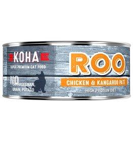 Koha Koha Canned Cat Food Kangaroo & Chicken Pate 5.5 oz single