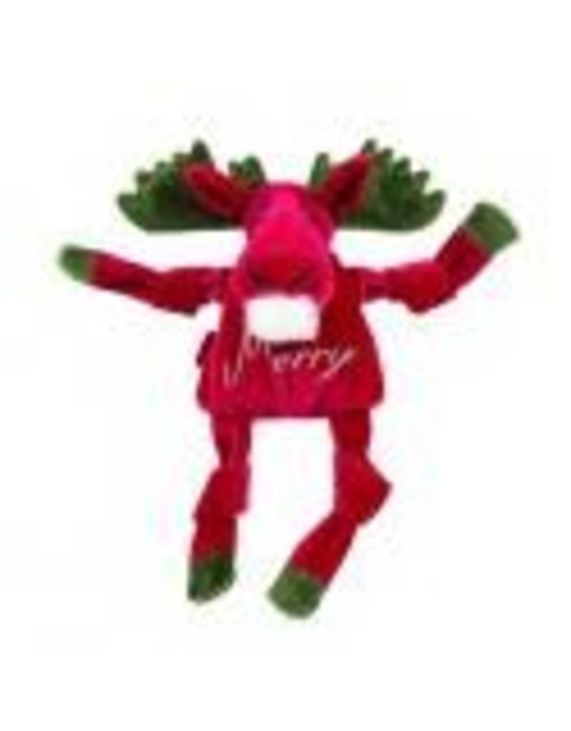HuggleHounds Huggle Hounds Christmas 2018 Toys Merry Moose Knottie Large