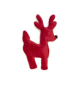 West Paw West Paw Holiday Ruff-N-Tuff Reindeer Red