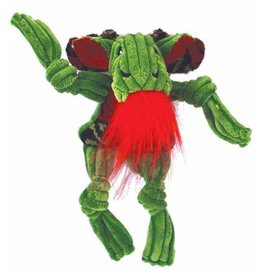 HuggleHounds HuggleHounds Christmas Green Corduroy Knottie Christmas Moose 2017 Wee