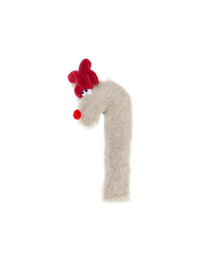 West Paw West Paw Holiday Crinkle Can Deer  Tan