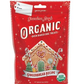 Grandma Lucy's Grandma Lucy's Holiday Dog Treats Wheat-Free Gingerbread 8 oz