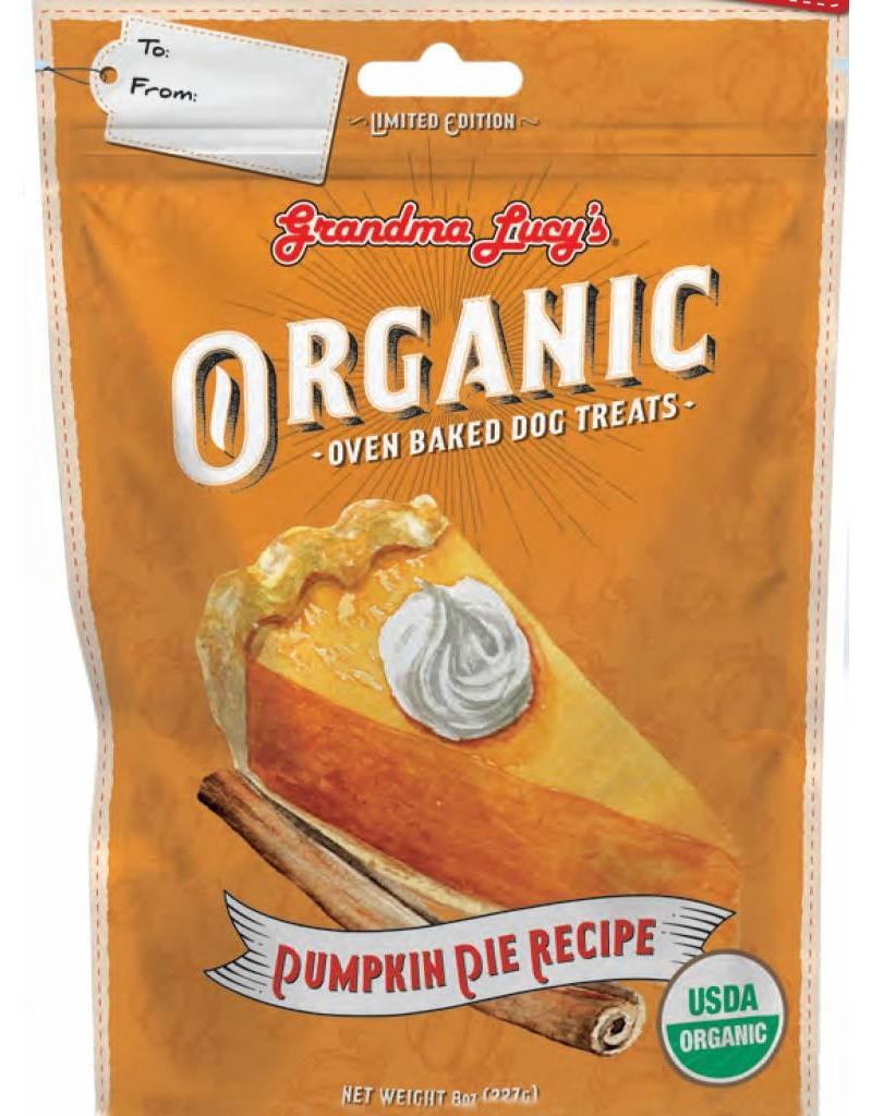 Grandma Lucy's Grandma Lucy's Holiday Dog Treats Wheat-Free Pumpkin Pie 8 oz